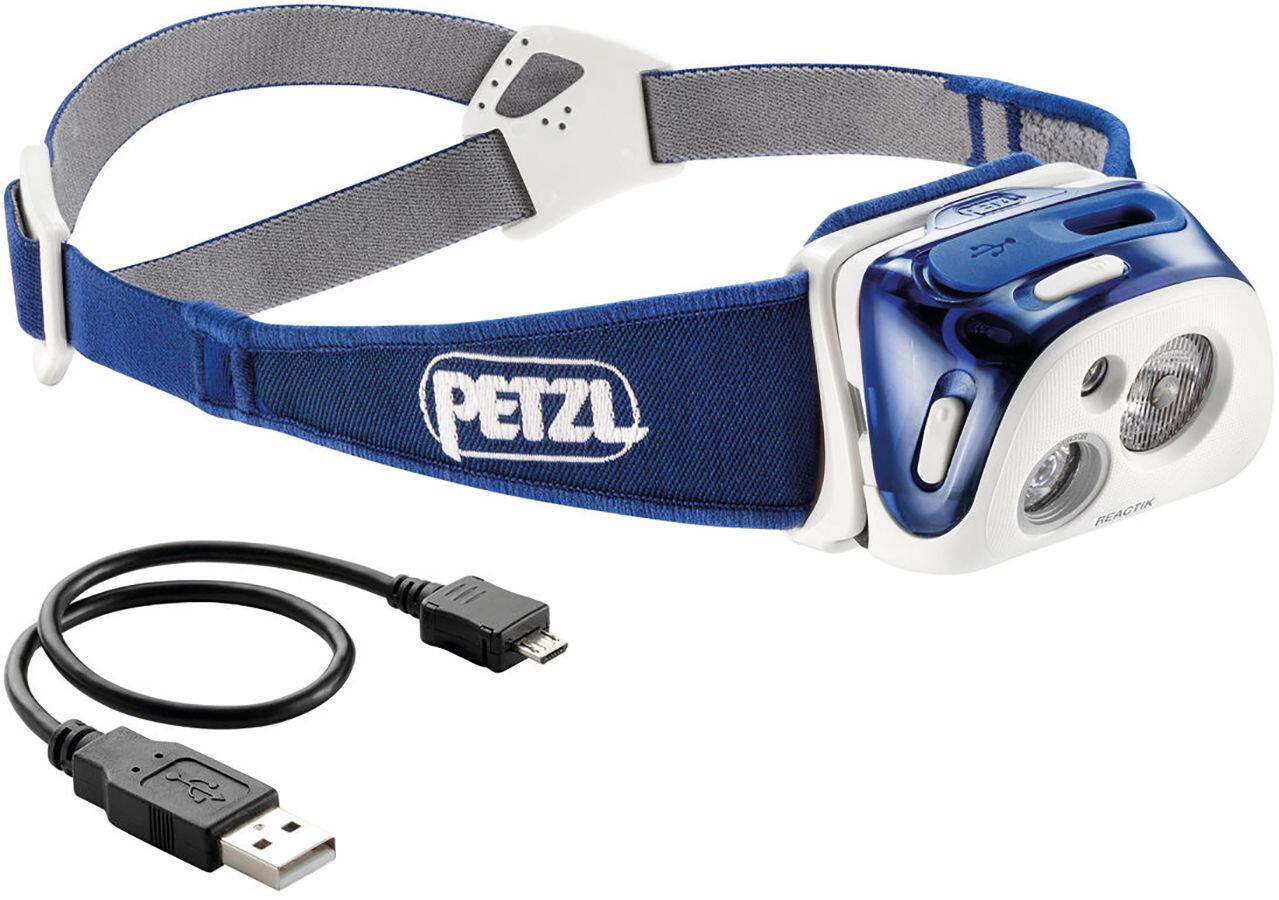 Petzl Reactik Headlamp Blå Blå Blå f63fa6